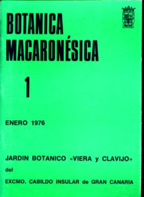 Publicaciones bot nica macaron sica jard n bot nico for Jardin botanico viera y clavijo
