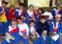 Escolares en el Jardín 3 -