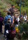 Escolares en el Jardín -