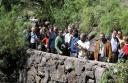 Delegados del Simposio de la AIMJB en el Jardín Botánico. 2005 -