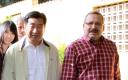 El primer ministro chino con el jefe de educación ambiental, Juan Manuel López. 2011 -