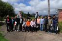 Visita al Jardín de la Delegación coreana de la Reserva de la Biosfera de Jeju (Corea del Sur), 2013 -
