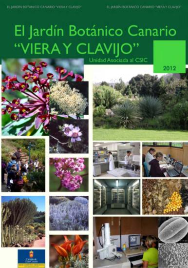 Publicaciones jard n bot nico viera y clavijo for Jardin botanico viera y clavijo