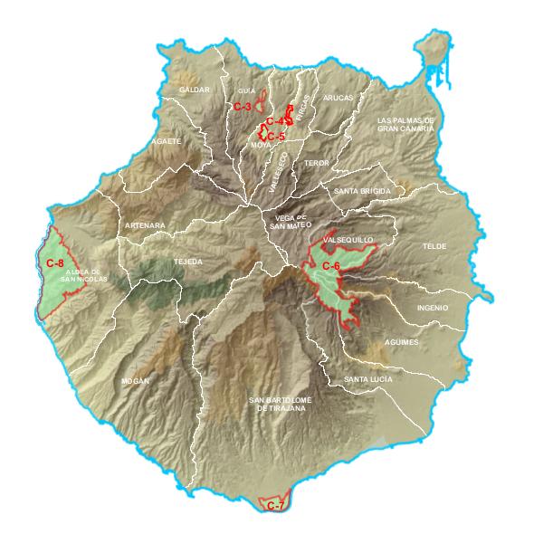 Reservas naturales especiales jard n bot nico viera y for Jardin canario horario