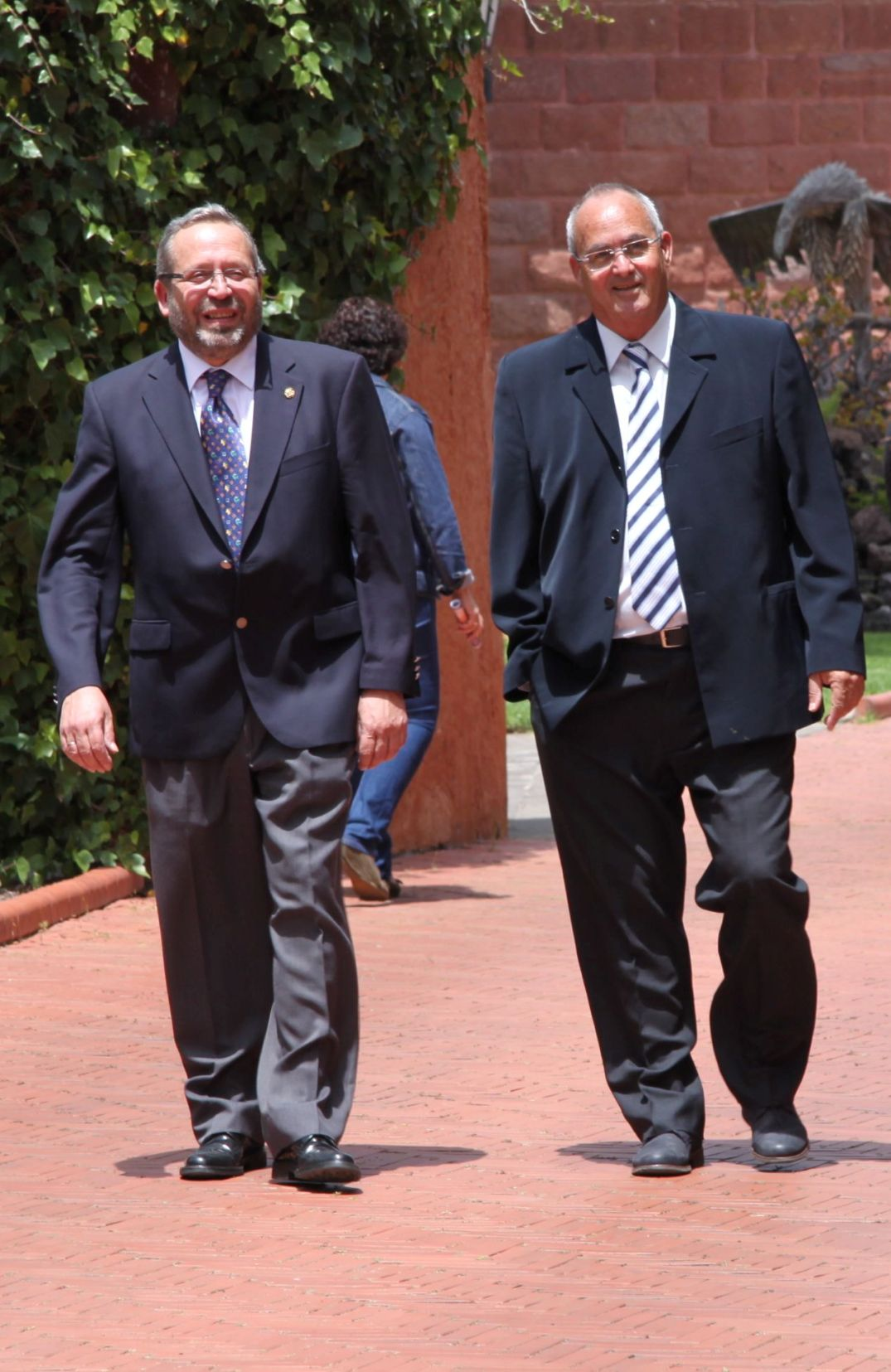 Bernardo Navarro y Juan Manuel López, 2013 -