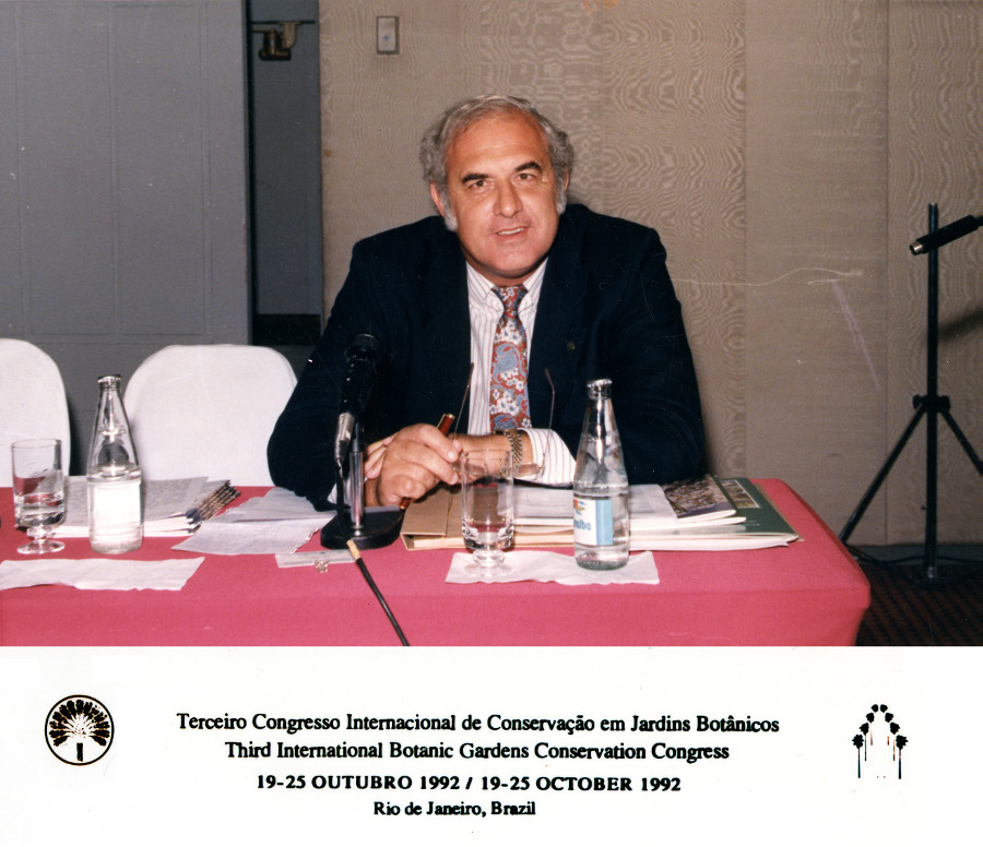 David Bramwell - Congreso de Río de Janeiro, 1992 -