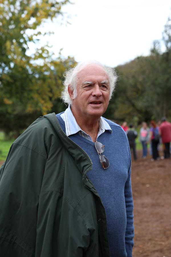 David Bramwell en el Día del Árbol, Osorio 2013 -