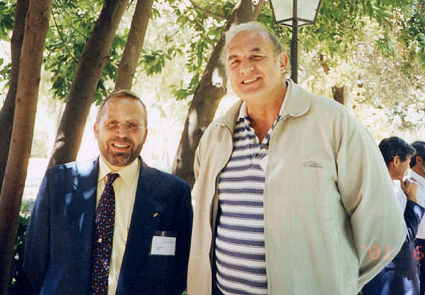 David Bramwell y Juan Manuel López. Congreso IABG, Córdoba 2000 -