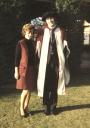 David Bramwell y su esposa Zöe, 1971 -